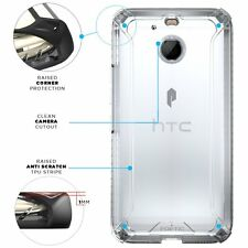 [20pieces/lot] For HTC Bolt 2016 Case Clear【POETIC】Shockproof Dual material Case