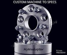 Merit Wheel Spacer Adapters 15 mm 5x98 To 5x100 Hub Centric x2 Alfa Romeo FIAT