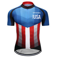 Man Cycling Bike Jerseys Riding Riding Shirt Outdoor Sports Wear Summer Wear