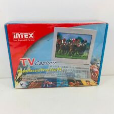 Intex TV Capture Tunerkarte für Windows 98 2000 XP