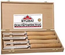 Stubai 709204 Coffret de 4 outils en HSS pour Tournage