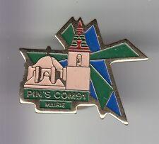 RARE PINS PIN'S .. TOURISME MOULIN A VENT MILL PIN'S COM 91 EXPO SALON MAIRIE~DF