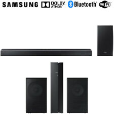 Samsung Virtual 5.1.2-Ch Soundbar System w/ Wireless Subwoofer + Speaker Bundle