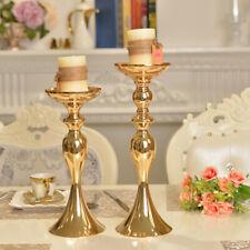Table Floor Stand Flower Vase Candle Holder Tealight Holder Wedding Gold-M