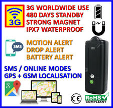 3G GPS Tracker - Portable Magnetic with Long Battery Life, Security Functions