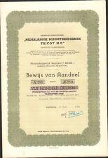RARE => NEDERLANDS BONNETERIEFABRIEK TRICOT N.V. (PAYS-BAS) (R)