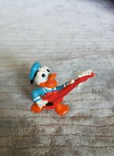 """New ListingVintage Applause Donald Duck Playing Guitar Classic Look 2"""" Figure Figurine"""