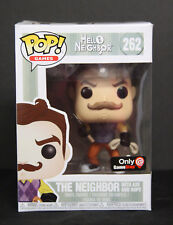 NIB - Funko Pop! Games - Hello Neighbor -NEIGHBOR WITH AXE & ROPE - GS Exclusive