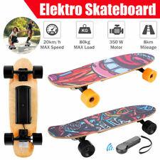 E-Skateboard Elektro skateboard 350W Longboard Miniboaord mit Fernbedienung JULI