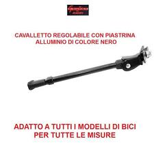 CAVALLETTO REGOLABILE IN ALLUMINIO NERO PER BICI 26/27,5/29 MTB MOUNTAIN BIKE