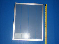 """Aluminum Framed Glass Door For Closet, Vanity, Kitchen Cabinet 17 1/2""""X 13 3/4"""
