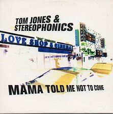"TOM JONES & STEREOPHONICS ""MAMA TOLD ME NOT TO COME"" SPANISH PROMO CD SINGLE"