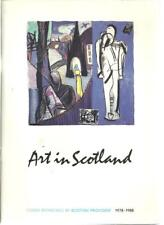 oo - ARTS in SCOTLAND Magazine - 1978 to 1988 - fully Illustrated