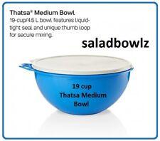 TUPPERWARE New THATSA MEDIUM BOWL 19 cup/4.5 L Mix Prep Store Salt Water Taffy