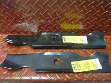 "3 Throwing Blade Set CUB CADET Ride on Lawnmower 46"" Cut 19mm Round Hole"