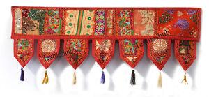Wall Hanging Indian Handmade Patchwork Toran Cotton Vintage Door Home Decorative