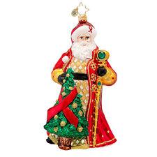 Christopher Radko - Ruby Remembrance - HIV/AIDS Charity - Jeweled Santa 1017471