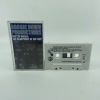 Boogie Down Productions - Ghetto Music: The Blueprint Of Hip Hop Cassette