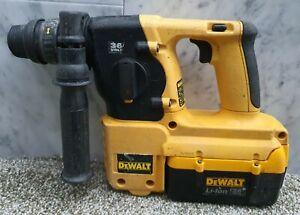 Dewalt 36v sds three mode hammer drill + battery DC234