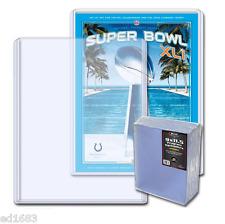 50 Bcw Program & Thick Magazine Topload Holder High Qualit 00004000 y 9 x 11 1/2 x 3/8