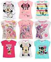 Girls Official Licensed Disney Summer Short Sleeve T Tee Shirt Top 3 - 10 Years
