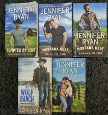 JENNIFER RYAN 5 BOOK LOT PAPERBACK WESTERN ROMANCE COWBOY FREE SHIPPING!