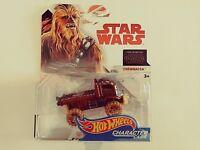 2017-Hot Wheels-Star Wars The Last Jedi-Character Cars Chewbacca-1:64-Boys-3+