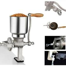 Hand Grain Grinder Mill Hopper Cereal Corn Oats Flour Coffee Food Wheat Machine