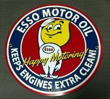 Esso Gas Oil gasoline sign