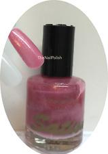 Original SATION Nail Lacquer PINK SPARKLE #10 - 0.5oz NEW Polish