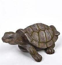Gartenfiguren & -skulpturen aus Kunstharz mit Schildkröten-Motiv