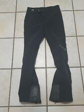 """Vintage Black Spyder ski pants Entront padded knees Japan Mens 30""""x 29"""""""
