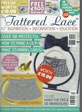 TATTERED LACE MAGAZINE With Free Vintage Handbag Die (worth $16.99) + papers
