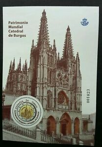 [SJ] Spain World Heritage Of Humanity Cathedral Of Burgos 2012 (ms) MNH *odd