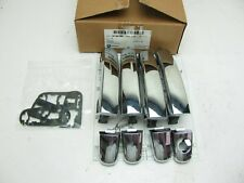 NEW OEM GM 4-pc Chrome Exterior Door Handle Set 19158388 For Various GM GMC Cars
