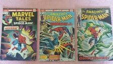 Comics Marvel The Amazing Spider Man*1969 #71 Vg*1974 #130 Fn*1974 #50 Fn