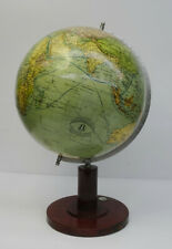 Antiker Globus Heimglobus Columbus Drei Kegel Verlag Kolonien Erdglobus ~1920