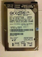 "HITACHI 40GB IDE ATA  4200RPM HTS424040M9AT00 2,5"" DISQUE DUR HARD DRIVE HDD"