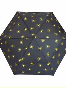 Bumble bee folding mini umbrella brolly novelty rain day great gift shopping