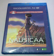 NAUSICAA DEL VALLE DEL VIENTO ED ESPECIAL BLURAY+ DVD STUDIO GHIBLI COLLECTION
