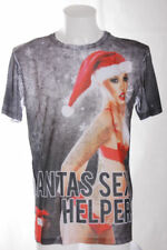 Christmas Polyester Short Sleeve T-Shirts for Men