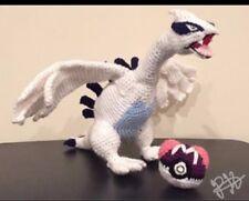Handmade Crochet Pokemon Plush Toy- Lugia Legendary Pokemon Pokemon Go