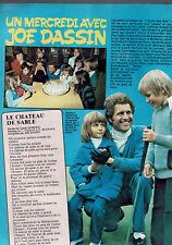 JOE DASSIN  ARTICLE 1 PAGE  1977 / CLIPPING PRESS