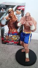 Sagat Street Fighter Statue Sideshow Exclusive POP Culture Shock Capcom