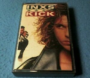 Inxs - Kick Cassette Tape (1987) - Tested - Paper Labels - Excellent Condition