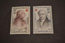 FRANCE 1959  série neuve ** n° 1226/1227  croix rouge