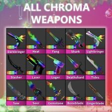 CHEAPEST MM2 ROBLOX CHROMAS (FAST DELIVERY READ DESC)