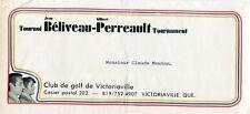1971 BELIVEAU/PERREAULT TOURNAMENT INVITATION TO CLAUDE MOUTON