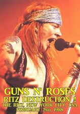 GUNS N' ROSES LIVE  RITZ 1988 DVD UNEDITED AUDIO  I ACCEPT PAYPAL!!!