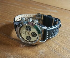 Alpha Mechanical Chronograph Watch (Paul Newman Rolex homage)